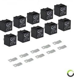 10 pack 5 pin relay 12v  [ 900 x 900 Pixel ]