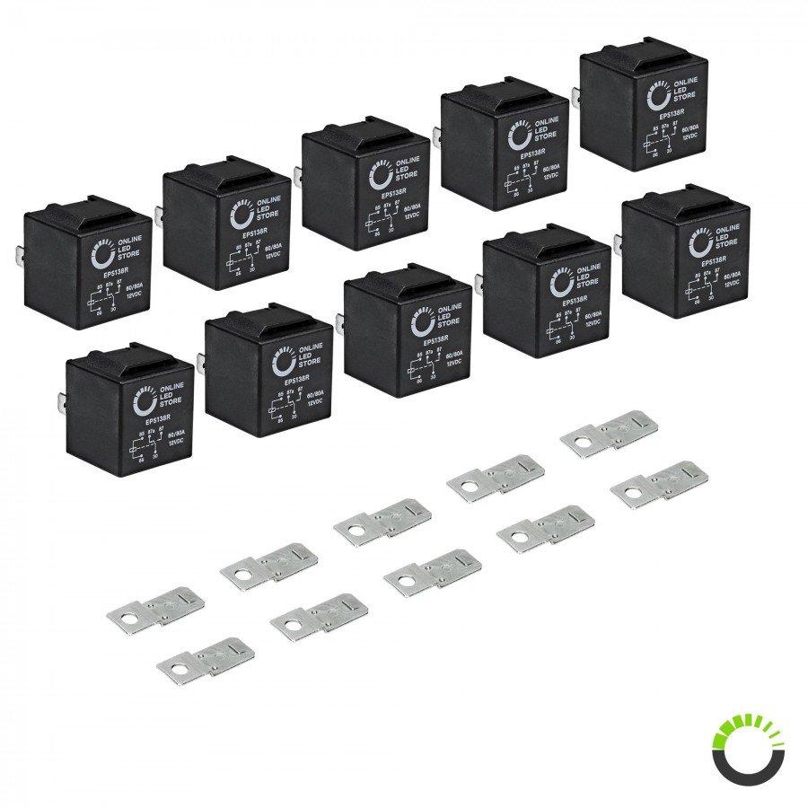 medium resolution of 10 pack 5 pin relay 12v