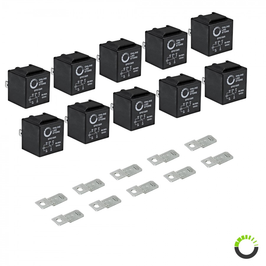 hight resolution of 10 pack 5 pin relay 12v