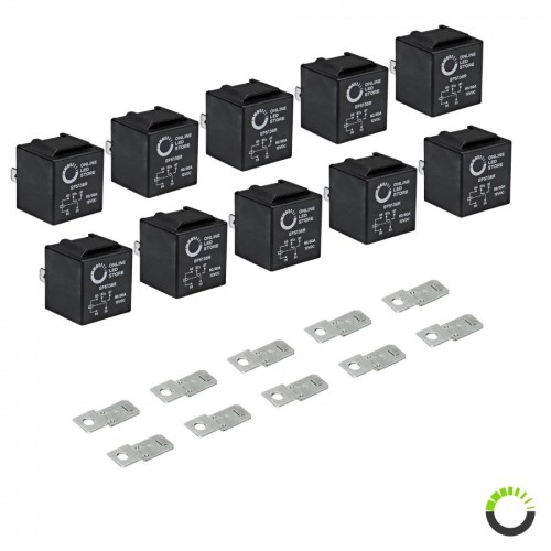 small resolution of 10 pack 5 pin relay 12v