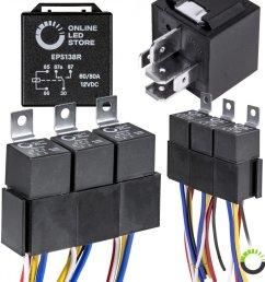 5 pack 5 pin relay kit [ 900 x 900 Pixel ]