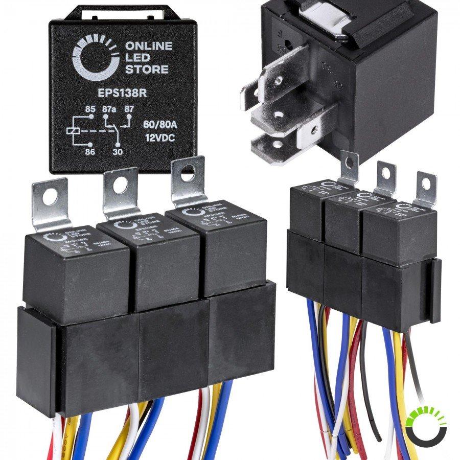 medium resolution of 5 pack 5 pin relay kit
