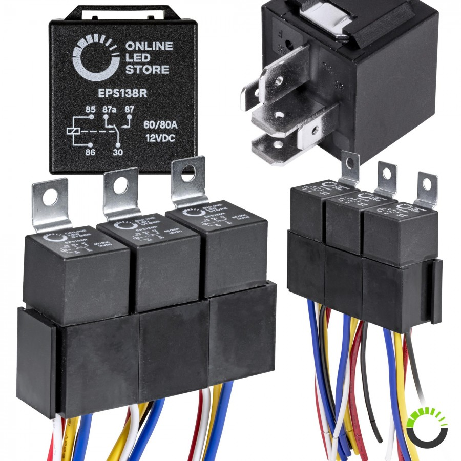 hight resolution of 5 pack 5 pin relay kit