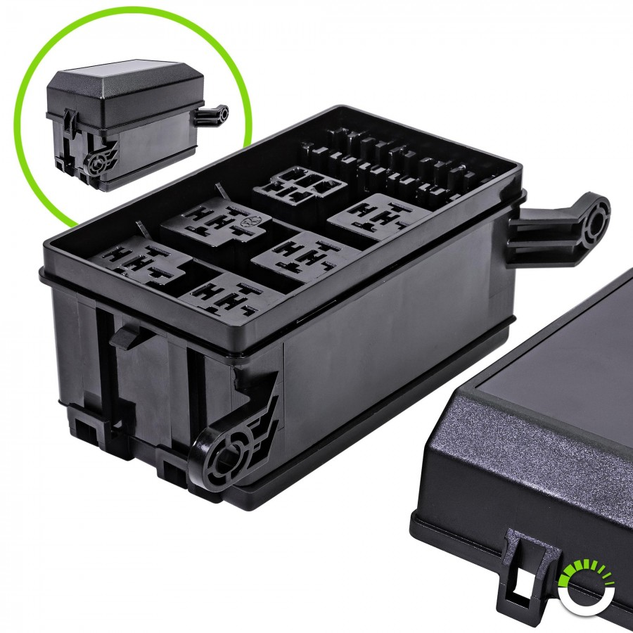 medium resolution of 12 slot fuse relay box