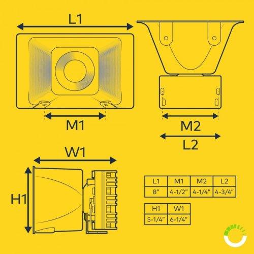 small resolution of soundalert 100w 120 130db siren speaker pszaudspk001siren speakers wiring diagram for 2 20