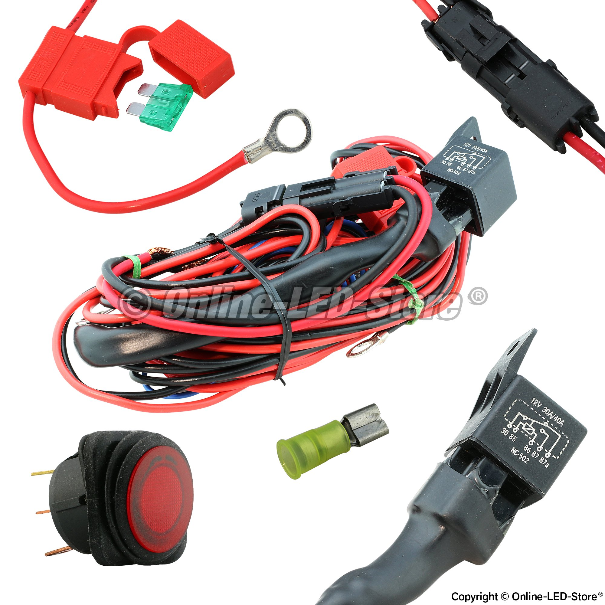 Off Road Wiring Harness LED Harness Online LED Store