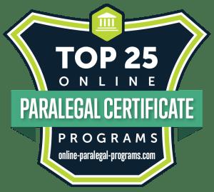 Top 25 Best Value Online Paralegal Certificates 2019