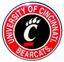 University of Cincinnati bearcats round logo