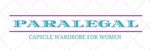 Capsule wardrobe for women - PAralegal