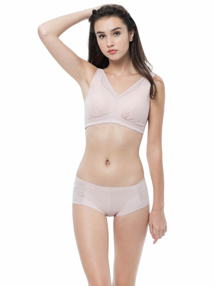 Nonwired Cami Bra Red  SATAMI Junior
