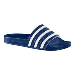 Adidas slipper Adilette blauw/wit