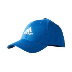 adidas Performance logo cap blauw