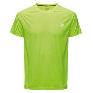 Jack & Jones Tech Journey fitnessshirt SS heren neon geel