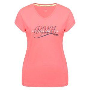 Li-Ning Jasleen hardloopshirt dames roze