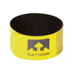 Nathan Reflex Snap Bands 2-pack geel