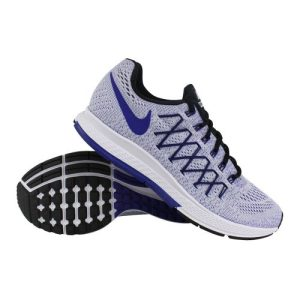 Nike Air Zoom Pegasus 32 hardloopschoenen heren wit/marine