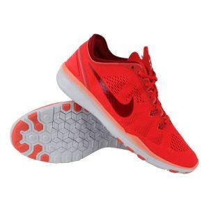 Nike Free 5.0 TR FIT 5 fitnessschoenen dames rood/wit