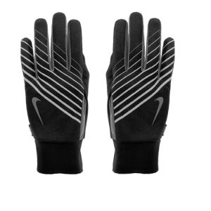 Nike hardloophandschoenen met smartphone-touch zwart/grijs