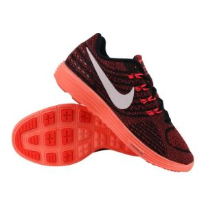 Nike LunarTempo 2 hardloopschoenen dames zwart/roze