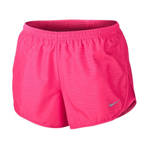 04b7e88f1af Nike Modern Embossed Tempo 3 inch hardloopshort dames roze ...