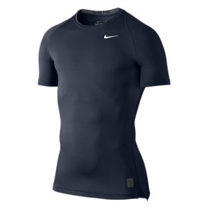 Nike Pro Cool Compression SS thermoshirt heren marine