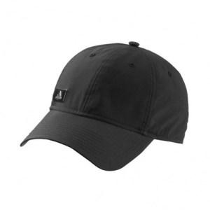 adidas Performance metal logo cap zwart