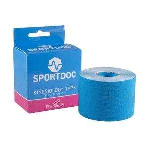 SportDoc Kinesiology tape blauw