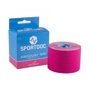 SportDoc Kinesiology tape roze