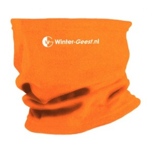 Winter-Geest fleece col oranje