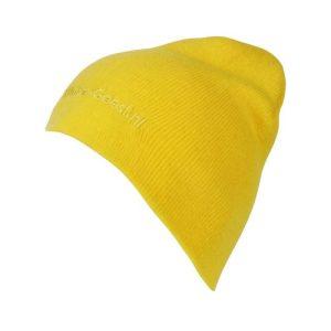 Winter-Geest muts geel