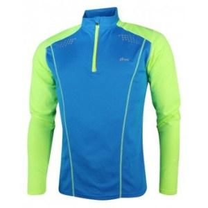 York Milo hardloopsweater heren blauw/geel