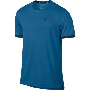 Nike Tennis T-shirt Nike Dry Top Team blauw