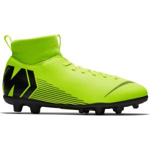 Nike Voetbalschoenen kind Mercurial Superfly VI Club MG geel