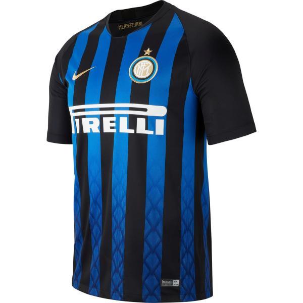 Nike Voetbalshirt Inter Milan thuisshirt 18/19 voor kinderen marineblauw