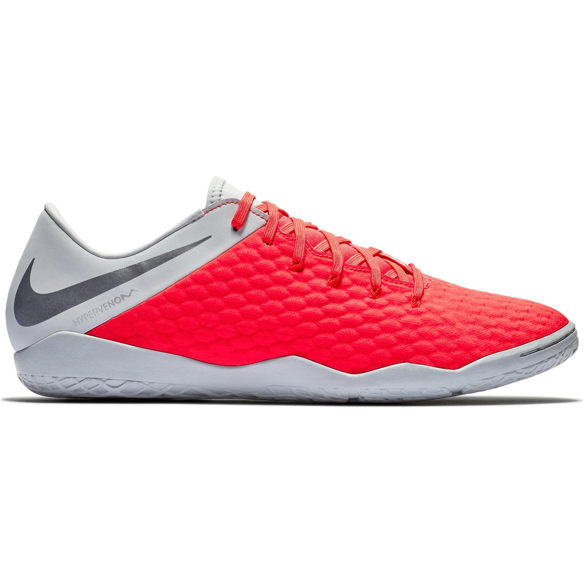 f3891256341 Nike Zaalvoetbalschoenen Hypervenom Phantom III Academy IC volwassenen  grijs/rood
