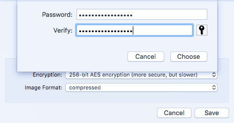 How to Create an Encrypted Disk Image in OS X
