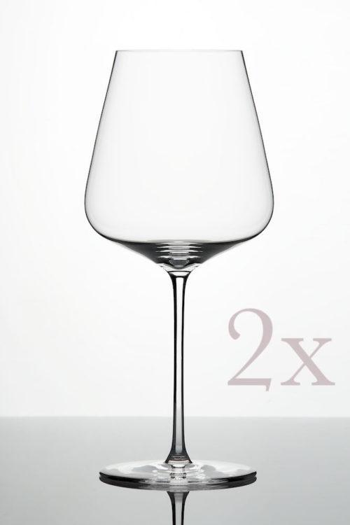 ZALTO Bordeaux-Glas 2er Pack