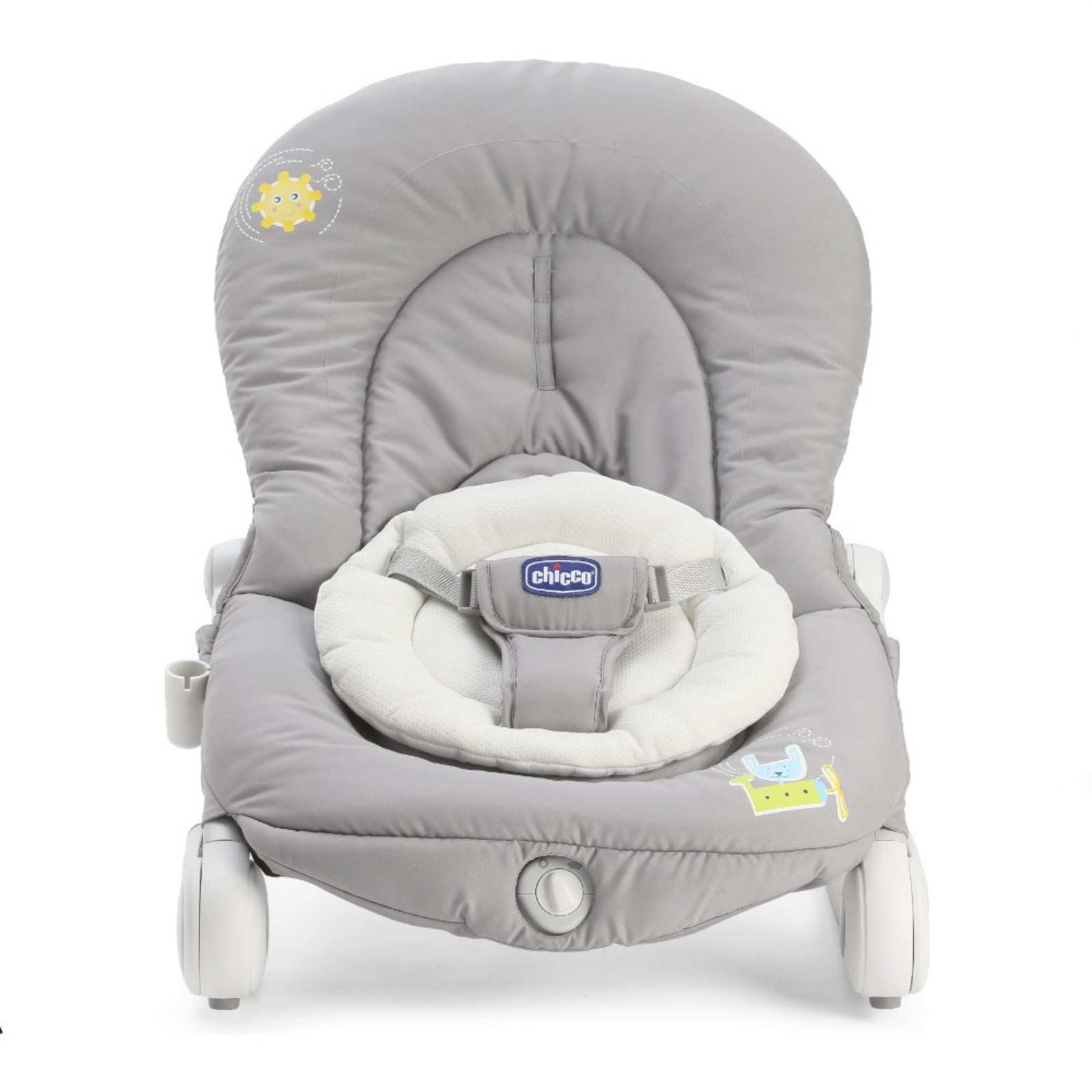 graco baby swing chair uk swivel office chicco balloon bouncer rocking dark grey