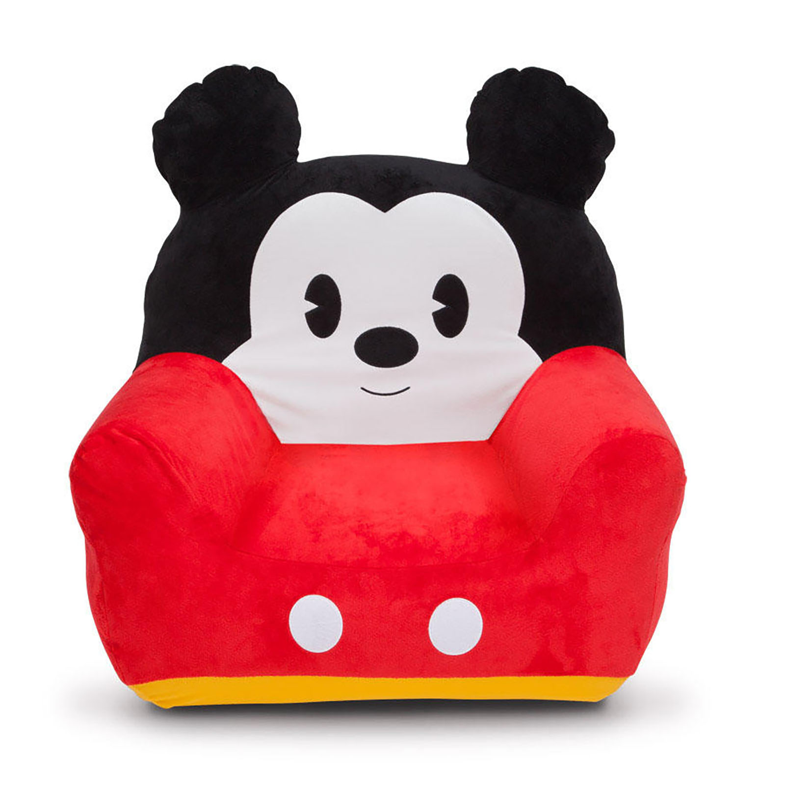 mickey mouse recliner chair uk quality leather dining chairs new delta children disney kids inflatable