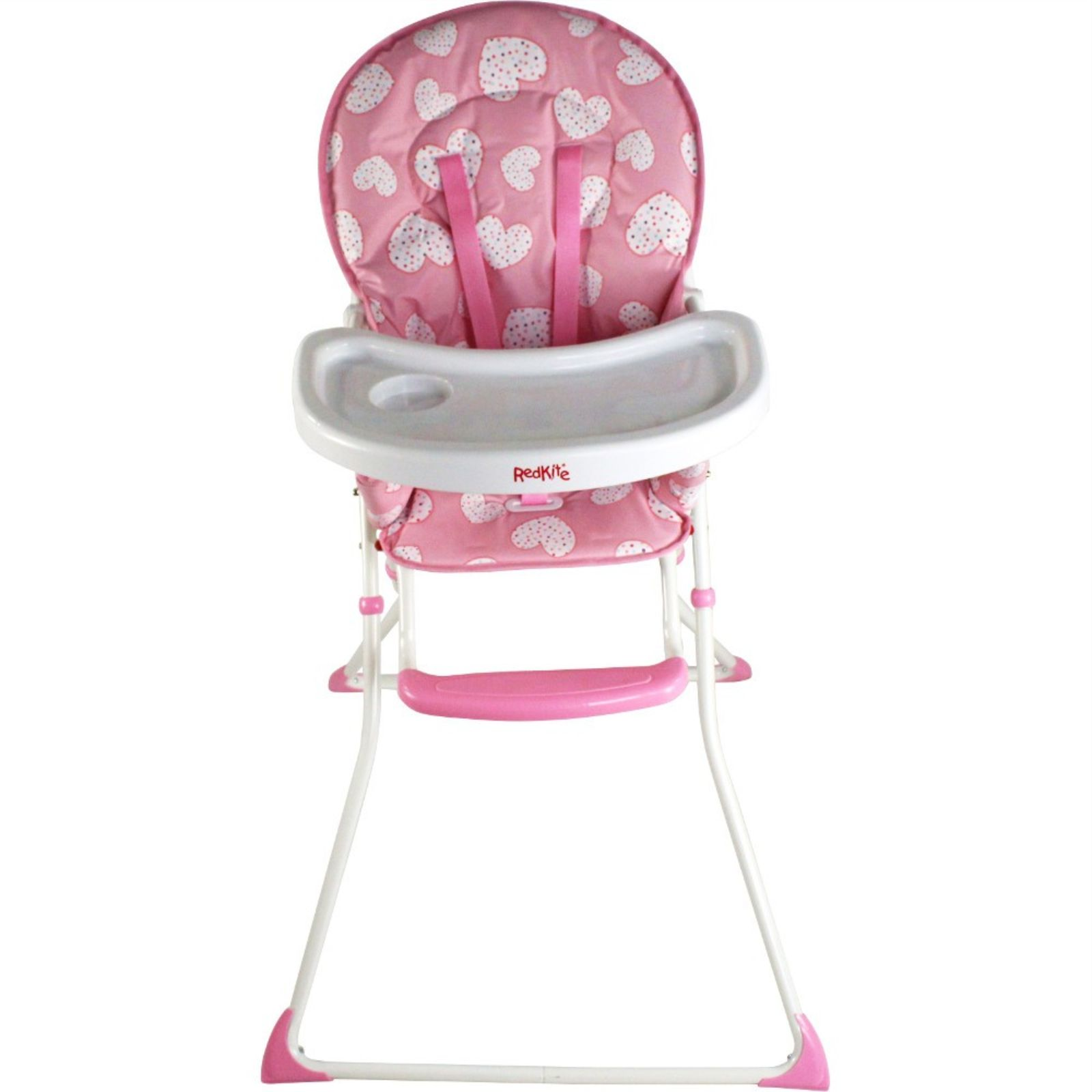 pink high chairs fold up rocking chair red kite feed me compact highchair pretty kitty buy at