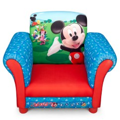 Childrens Upholstered Chair Plastic Adirondack With Cup Holder New Delta Children Disney Mickey Mouse