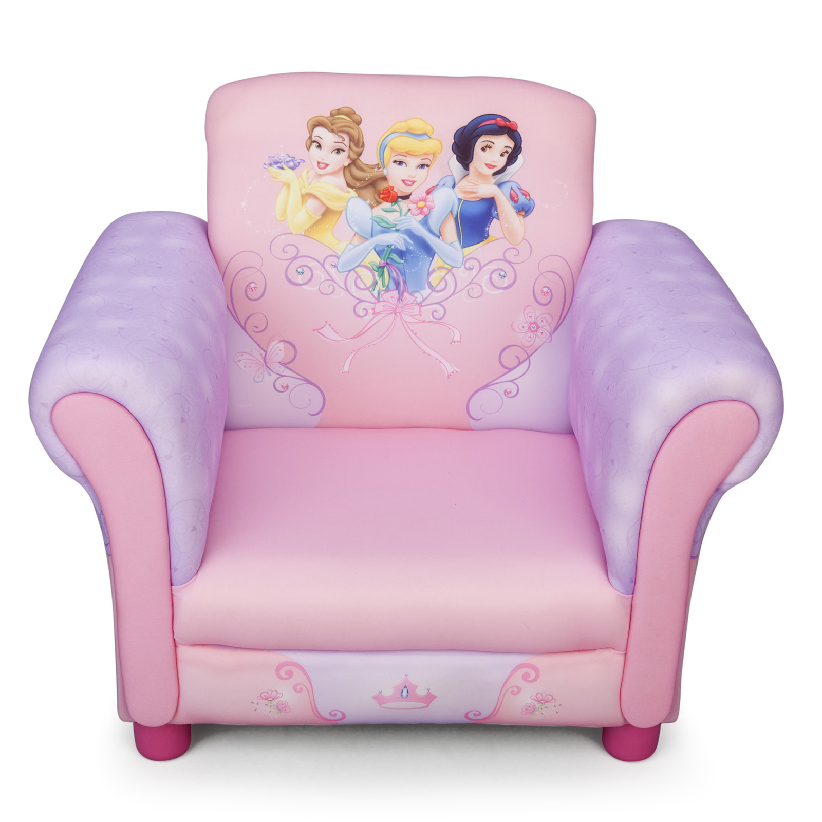 disney princess chair indoor rocking cushions sets new delta children upholstered pink