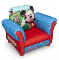NEW DELTA CHILDREN DISNEY MICKEY MOUSE UPHOLSTERED CHAIR ...