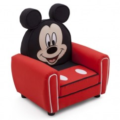 Mickey Mouse Armchair Uk Chair Rentals Sacramento New Delta Children Disney Figural Upholstered Padded | Ebay
