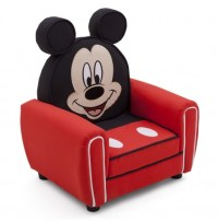 NEW DELTA CHILDREN DISNEY MICKEY MOUSE FIGURAL UPHOLSTERED ...
