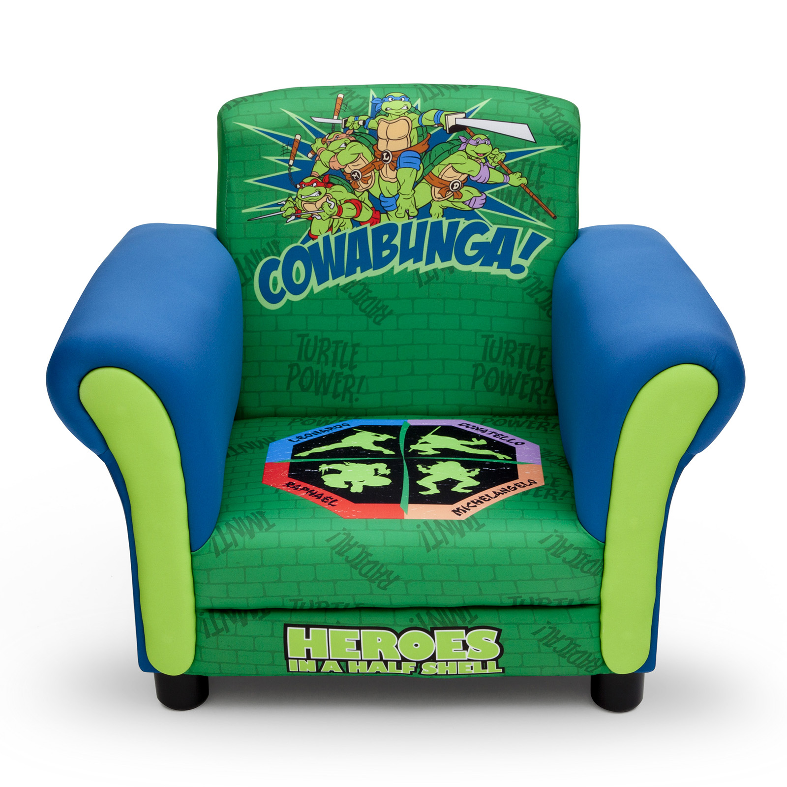 ninja turtles chair swivel rocker new delta children teenage mutant