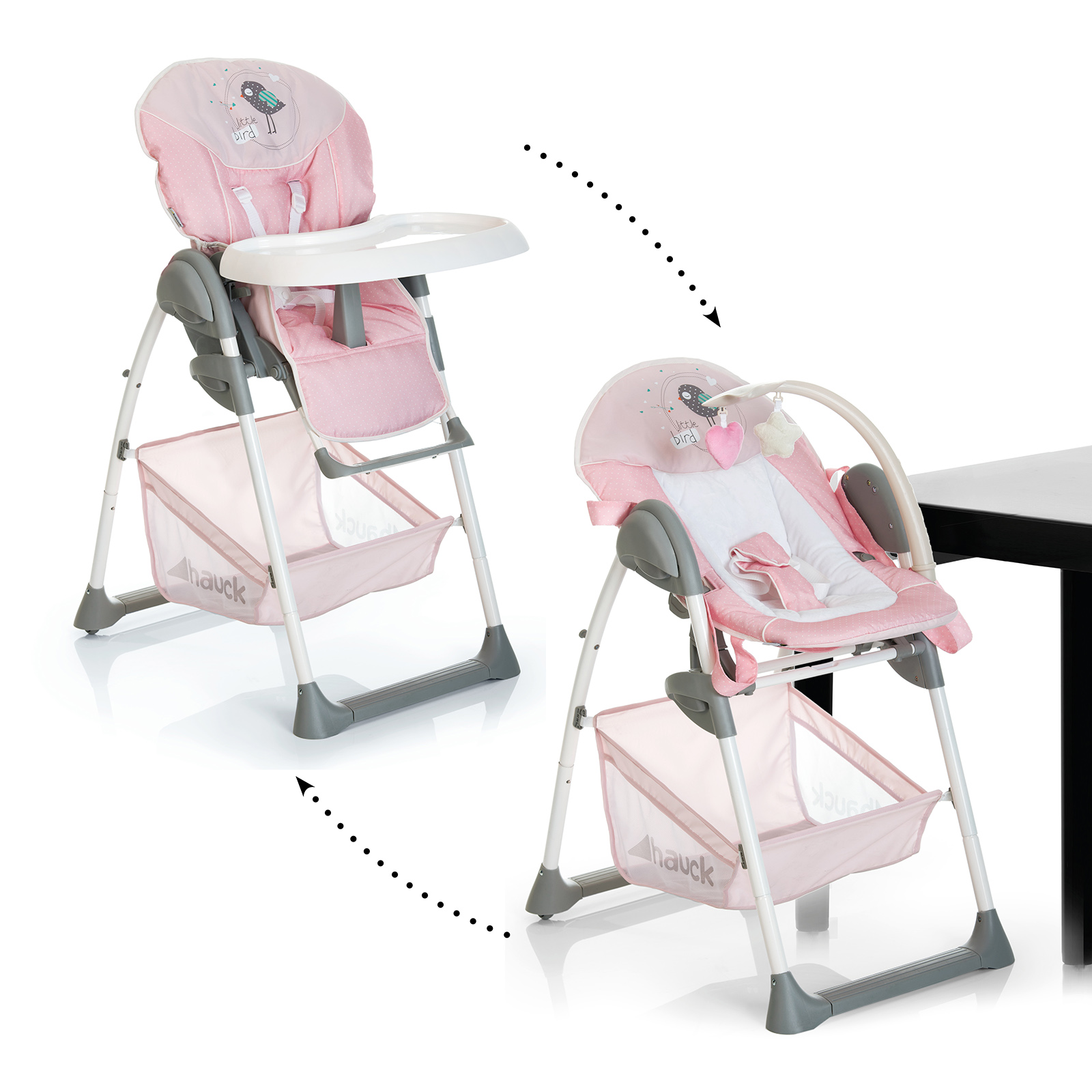hauck high chair desk ball new sit n relax 2 in 1 highchair baby