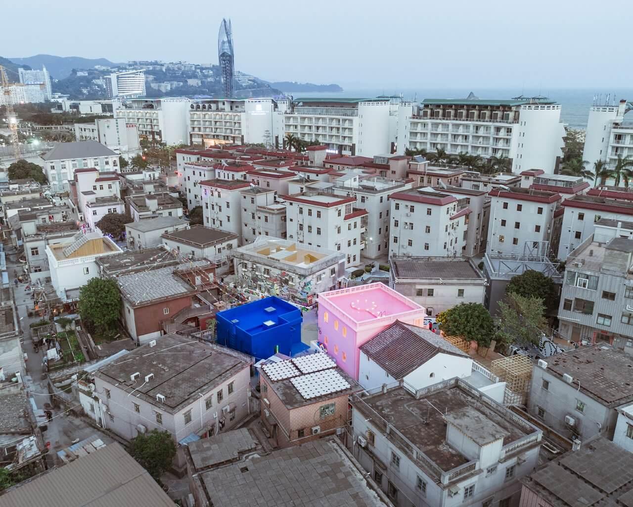 粉藍欲望之屋—Wutopia實驗室的城市改造項目 | 全球設計風向
