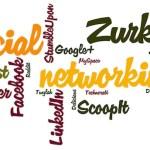 social networks word cloud