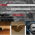 Harvard Online Learning website
